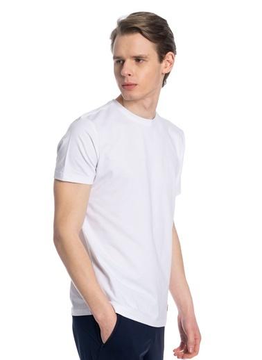 Slazenger Slazenger COBY Erkek T-Shirt  Beyaz
